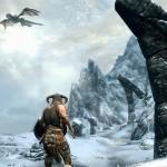 Les dragons sont au coeur de Skyrim
