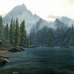 Un paysage des elder scrolls 5