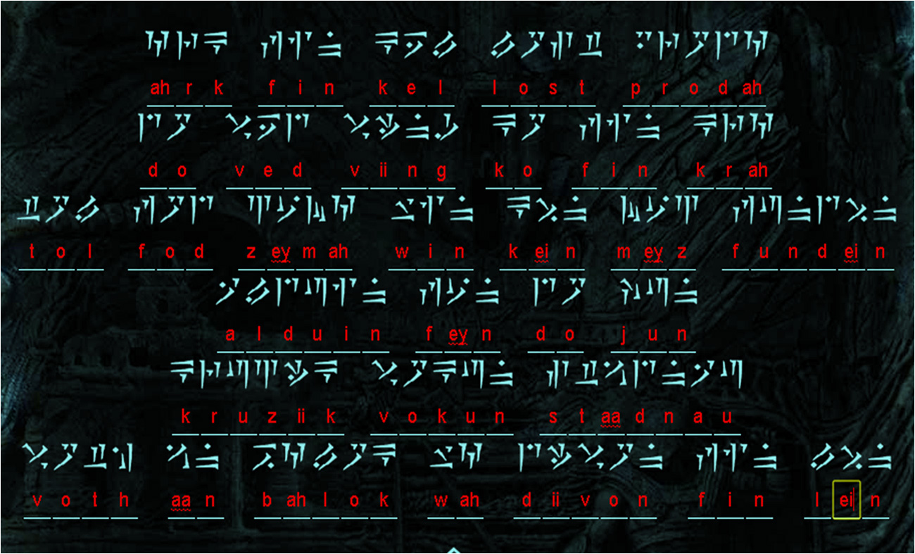 Le code de Skyrim déchiffré