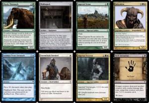 Un jeu de cartes pour Skyrim