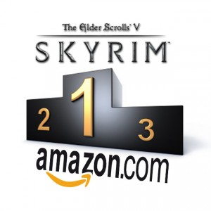 Skyrim top des ventes Amazon