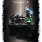 Alchimie Concept Art de Skyrim