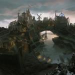 Solitude Concept Art de Skyrim