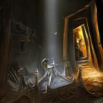 Donjon Concept Art de Skyrim