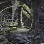Donjon Concept Art de Skyrim 2