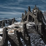 Le labyrinthe Concept Art de Skyrim