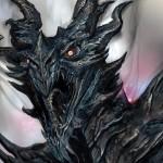 Dragon guerrier Concept Art de Skyrim