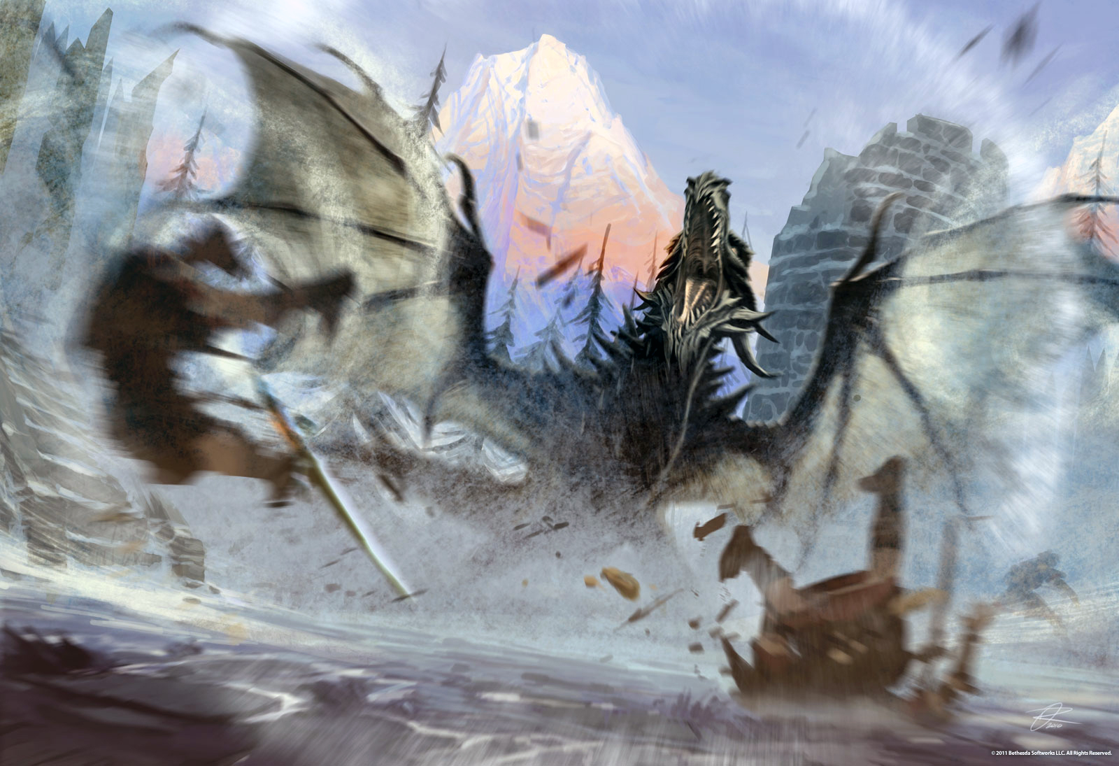 Skyrim : les concepts Arts