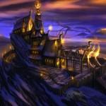 Fort Dragon Concept Art de Skyrim