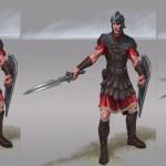 Légion impériale Concept Art de Skyrim