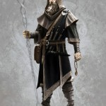 Mage Concept Art de Skyrim
