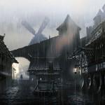 Moulin Concept Art de Skyrim