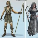Nordiques Concept Art de Skyrim