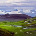 Paysage Concept Art de Skyrim