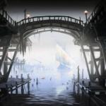 Pont Concept Art de Skyrim