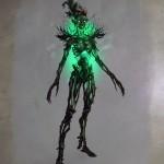 Spriggan Concept Art de Skyrim