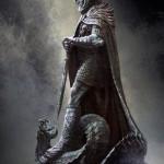 Statue de Skyrim concept art