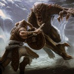 Troll Concept Art de Skyrim